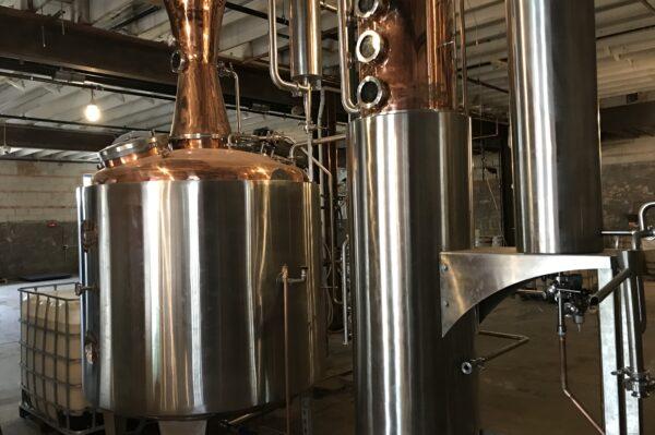 Distillery equipment for creating spirits